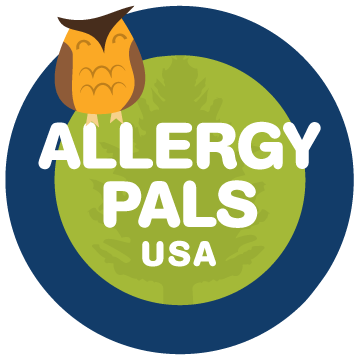 Camp Blue Spruce Allergy Pals USA Logo